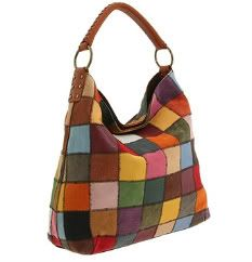 Lucky Brand Handbags on Some Of The Lucky Brand Patchwork Bags Are Made Of Leather   Some