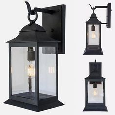 The Miramar Clara Exterior Arm Mount shown in DLG Grey with DLG Antique Glass // About this Light: In the the Miramar hotel became… Outdoor Wall Lantern, Outdoor Wall Lighting, Outdoor Walls, Home Lighting, Exterior Light Fixtures, Exterior Lighting, Craftsman Exterior, Craftsman Style, Miramar Hotel