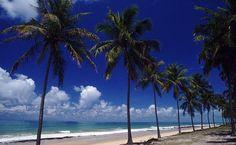 Maceió, AL. A Praia da Lagoa Azeda é uma vila de pescadores cercada por encostas de morros e falésias