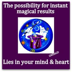 All magic lies within us