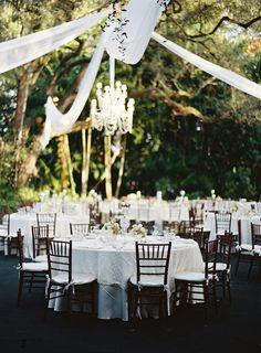 Outdoor Wedding Reception at Villa Woodbine Paris Wedding, Miami Wedding, Our Wedding Day, Wedding Sets, Perfect Wedding, Dream Wedding, Outdoor Wedding Reception, Wedding Venues, Reception Ideas