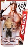 Name: John Cena United States of America Action Figure Manufacturer: Mattel Toys Series: WWE Basic Series 20 Global Superstars Release Date: June 2012 For ages: 4 and up Details (Description): Capturing all the action and dramatic exhibition of sports entertainment, the Mattel WWE basic figures feature authentically sculpted 6 inch figures of the biggest WWE Superstars. Figures feature deluxe articulation, amazing detail and accessories such as masks, armbands and costumes.
