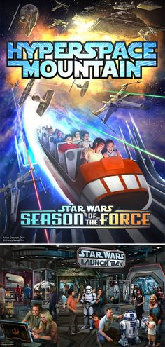 From a new Star Tours to Star Wars Launch Bay and Season of the Force, Guests at Walt Disney World and Disneyland Resorts will soon be able to step into the Star Wars galaxy like never before!