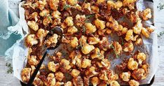 Try a vegie take on spiced popcorn chicken, with roasted cauliflower florets. A very tasty snack the kids will love!