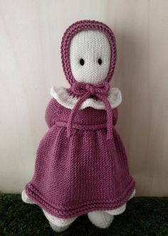 Clothes for The Oak Folk Set H Knitting pattern by Agasalhos e Bugalhos Crochet Yarn, Crochet Hooks, Knitted Baby Outfits, I Cord, Baby Clothes Patterns, Dk Weight Yarn, Knitted Animals, How To Start Knitting, Cascade Yarn