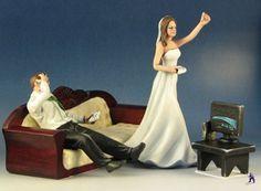 gamers wedding cake topper   cake toppers?   Weddings, Planning   Wedding Forums   WeddingWire Gamer Wedding Cake, Funny Wedding Cake Toppers, Geek Wedding, Zombie Wedding, Batman Wedding, Dream Wedding, Wedding Rings, Video Game Wedding, Wedding Games