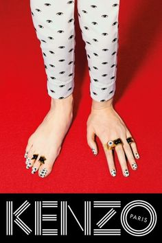 Kenzo F/W 2013 Campaign, by Toilet Paper. Creepy cool.
