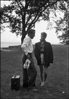 Humphrey Bogart and Audrey Hepburn