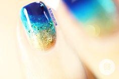 Manucure Ocean   Nail Art facile #3   Blog en Beauté