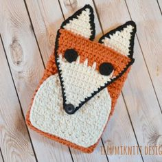 Fox Tablet Cozy - Illumikniti Designs | Mad Mad Makers | http://www.ravelry.com/patterns/library/fox-tablet-cozy