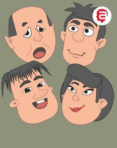 2D Actor - Head - Reallusion Marketplace Funny People, 2d, Family Guy, Actors, Guys, Fictional Characters, Fantasy Characters, Sons, Boys