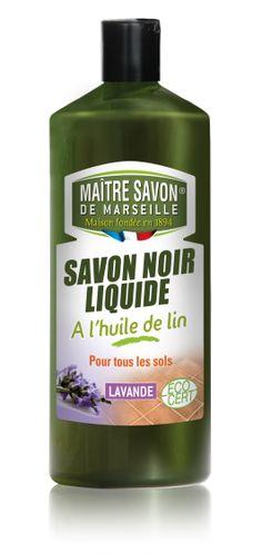 Savon Noir Liquide 1L Maître Savon de Marseille Lavande