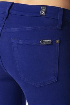 THE SLIM ILLUSION ANKLE SKINNY IN ROYAL