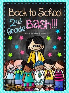 Back To School Bash 2nd Grade {Back to School Unit}