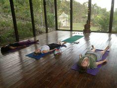 Yoga 2x's a day @ the Highland House
