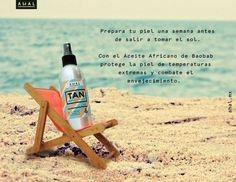 Prepara tu piel para los rayos del sol estas vacaciones. Encuentra lo en ahal.mx
