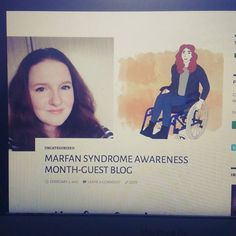 Latest blog up on the site! Link in bio. Thanks to @shonalouiseblog for guest posting today. #marfansyndrome