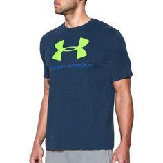 UNDER ARMOUR Under Armour Men'S Charged Cotton® Logo T-Shirt. #underarmour  #cloth #shirts | Under Armour Men | Pinterest | Armours