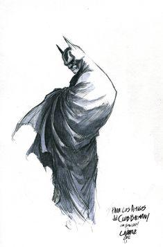 CLUB BATMAN BLOG - Comic, Ilustracion, Batman Fan Club: Pepe Larraz - Batman