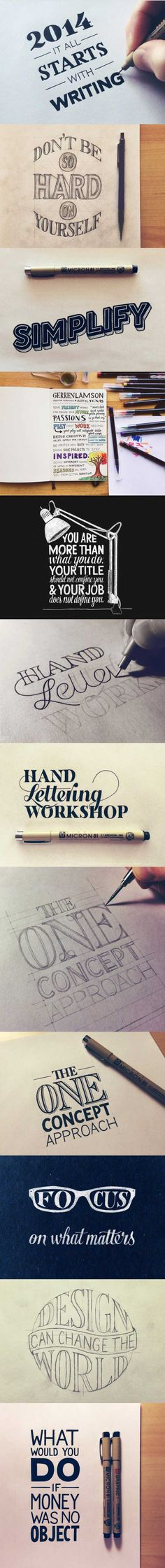 joindarkside » Awesome collection of hand lettering ( 13 Pics)!