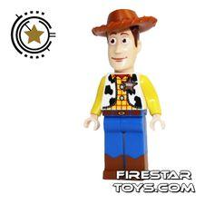 LEGO Toy Story Mini Figure - Woody   Toy Story LEGO Minifigures   LEGO Minifigures   FireStar Toys
