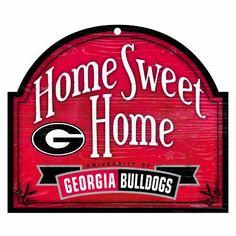"""NCAA Georgia Bulldogs 10-by-11 Wood """"Home Sweet Home"""" Arch Sign WinCraft http://www.amazon.com/dp/B005Y7LMUG/ref=cm_sw_r_pi_dp_irJnwb0RQSTWB"""