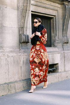 Vanessa Jackman / Street Style / Paris 2015 / Before Dior, Paris, March 2015.