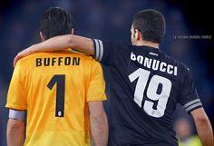 GiGi & BonBon Forza Juve Juventus Fc, Warriors, Grande, Football, Black And White, Sports, Candy, Soccer, Hs Sports