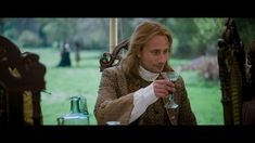 Matthias Schoenaerts as André Le Notre singing during the banquet scene in the film A Little Chaos directed by Alan Rickman, also starring Kate Winslet. Gabriel Oak, A Little Chaos, Matthias Schoenaerts, Stanley Tucci, Alan Rickman, Kate Winslet, Film, Singing, Scene