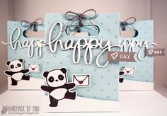 """Valentine's Day Goodie Bags by Handmade by Yuki 