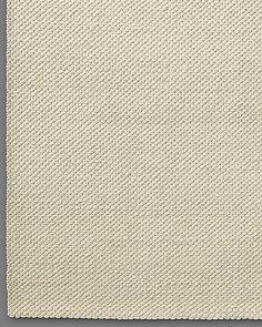 Luxe Looped Wool Rug - Cream