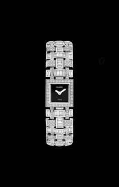 WATCH IN 18K WHITE GOLD AND DIAMONDS - CHANEL - Govind Soni. http://www.thesterlingsilver.com/product/skagen-womens-wrist-watch-skw2340/