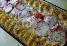 Tavaszi egytálétel   NOSALTY Hungarian Recipes, Hungarian Food, Pasta Salad, Beef Recipes, Potato Salad, Macaroni And Cheese, Sushi, Waffles, Sausage