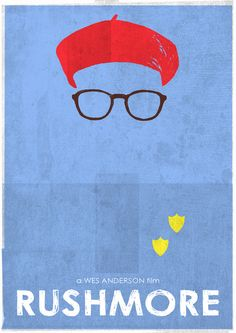 """Wes Anderson. I once wrote about how if I were a brand I would be named """"Bangin' Rushmore"""" due to my hairstyle and love for the film. I guess you could say I'm mildly obsessed...with both."""