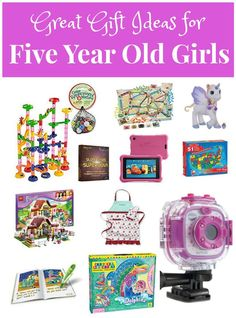 Great Gifts For Five Year Old Girls
