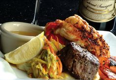Lobster And Steak From Rick Erwin S In Greenville Tasty Dishes Bon E