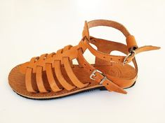 Leather Brown Gladiator Sandals Handmade Greek Sandals - Leather Sandals For Women By Leatherhood