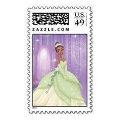 Princess Tiana Postage Stamps
