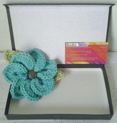 Crocheted Brooch/Corsage/Pin Aruba Seas Flower Motif by daddydan, $6.95