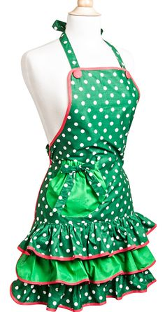 Flirty Aprons Holiday Gift Aprons 50% off w/ FREE shipping making them only $7.48 shipped!