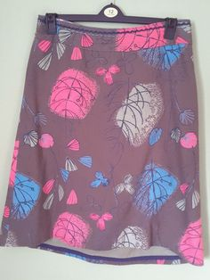 WHITE STUFF Skirt fully lined cotton skirt with abstract print. - Size 14 #WhiteStuff #Aline #Casual This gorgeous skirt by White Stuff is listed on my ebay for £14.99. Take a look and make an offer.