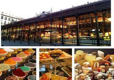 Los mejores mercados gourmet de Madrid. Como el Mercado de San Miguel, Platea o el Mercado de San Ildefonso. Lugares donde encontrar ingredientes y comer