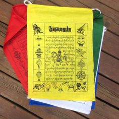 Dharmashop.com - Tibetan Nun's Project Prayer Flags, $15.99 (http://www.dharmashop.com/products/Tibetan-Nun's-Project-Prayer-Flags.html)