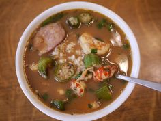Gumbo | gumbo Gumbo Recipes, Food For Thought, Thai Red Curry, Soup, Ethnic Recipes, Soups
