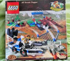 Lego Adventurers Dino Island All Terrain Trapper for sale online Dino Island, Lego Dino, Lego Sets For Sale, Johnny Thunders, Amazing Lego Creations, Ebay Usa, Legos, My Childhood, Baby Items