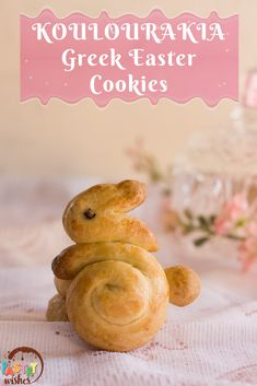 Koulourakia are traditional Greek cookies that are popular during Easter! They are buttery and crunchy, with hints of vanilla, orange juice, and freshly grated orange zest in every bite! Greek Desserts, Cookie Desserts, Greek Recipes, Greek Cookies, Greek Easter, Cute Easter Bunny, Orange Zest, Easter Cookies, Easter Recipes