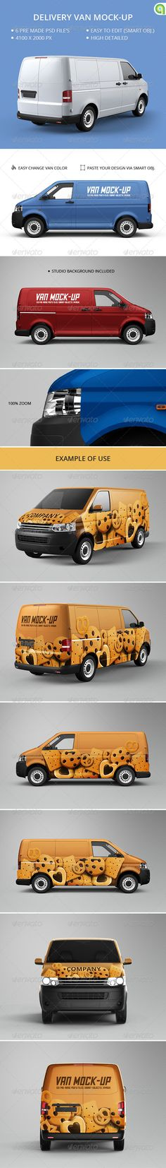 Van Mock-Up. #Mockup #van T4, Van Mock up, auto, automobile, brand, branding, car, company, delivery, design, lorry, mockup, photorealistic, print, service, t5, transport, truck, van, van mock-up, van mockup, vehicle, wrap, wraps