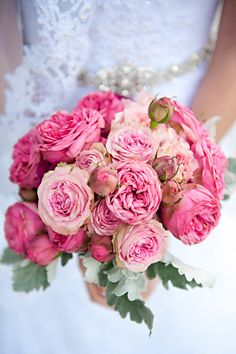 A vintage-inspired bouquet filled with peonies and roses.Photo Credit: Emindee Images