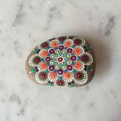 Kaleidoscope Mandala Stone - RESERVED FOR SUSONNE9