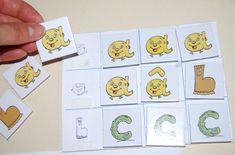 Supports pour les cartes-lettres alphas